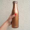 Isolierflasche bronze metallic