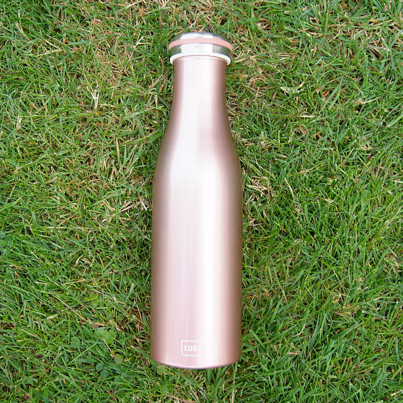 Isolierflasche Rosegold